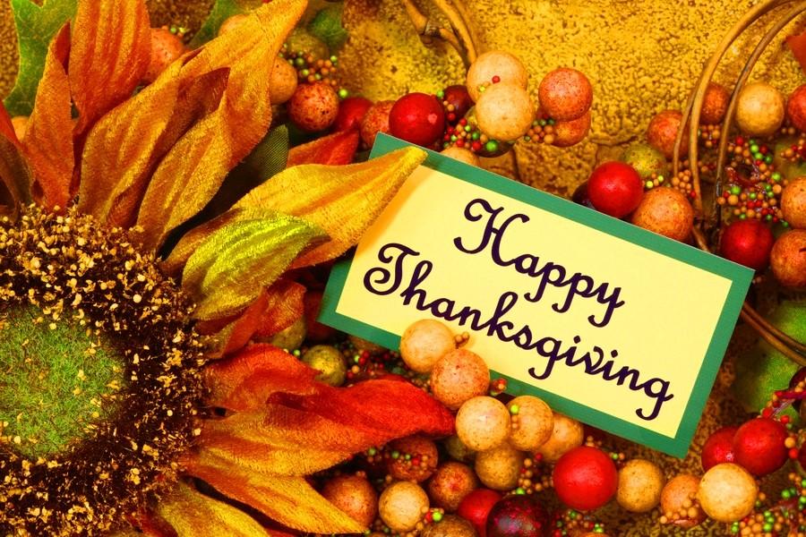 Поздравления с днем благодарения на английском