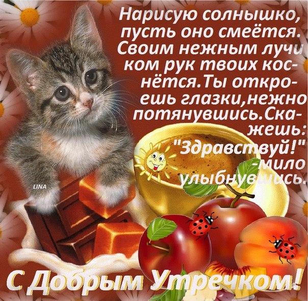 открытка с пожеланием доброго утра милой лестница