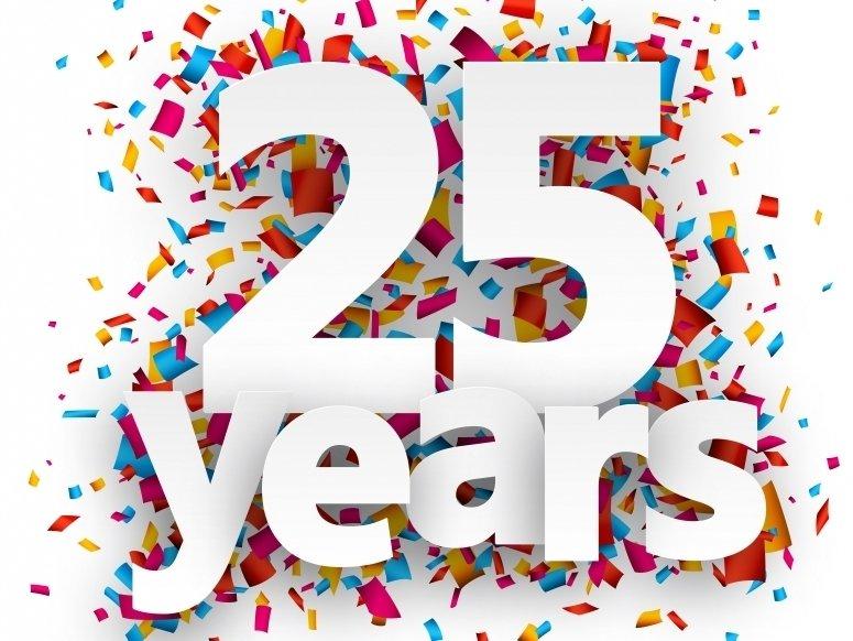 Картинка с днем рождения компании 25 лет