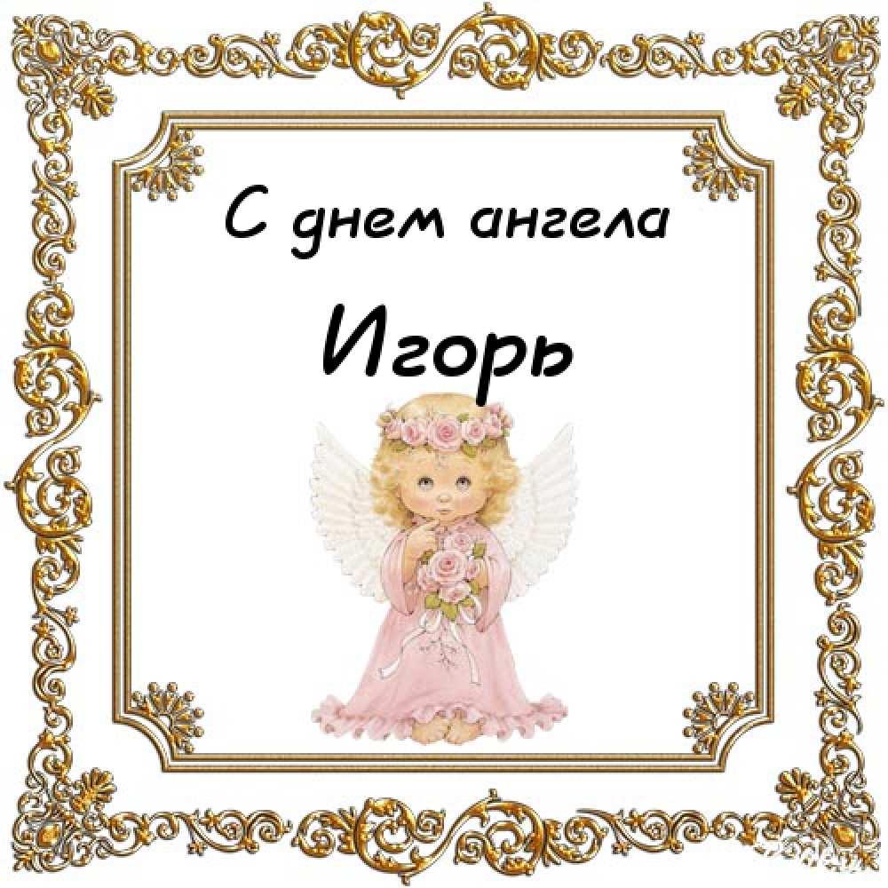 Поздравление с днем ангела игоря прикольные